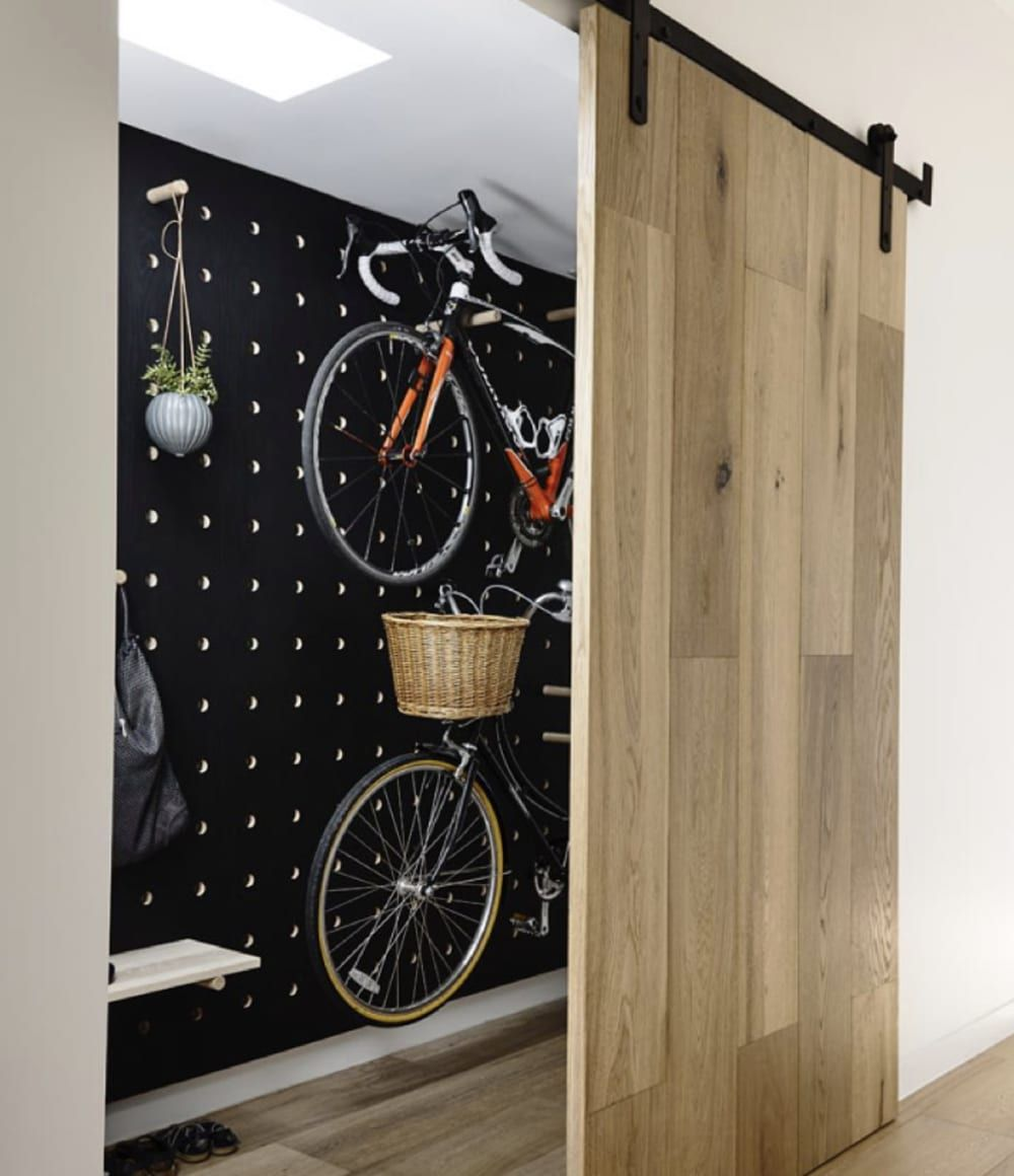 7 Unexpected Ways To Decorate With Pegboard Bike Storage Apartment