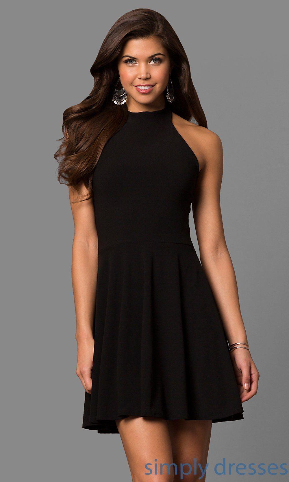 Black Cocktail Dresses Pinterest