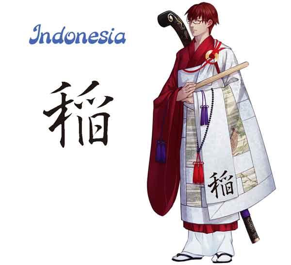 Karakter Anime yang Terinspirasi dari Bendera Negara