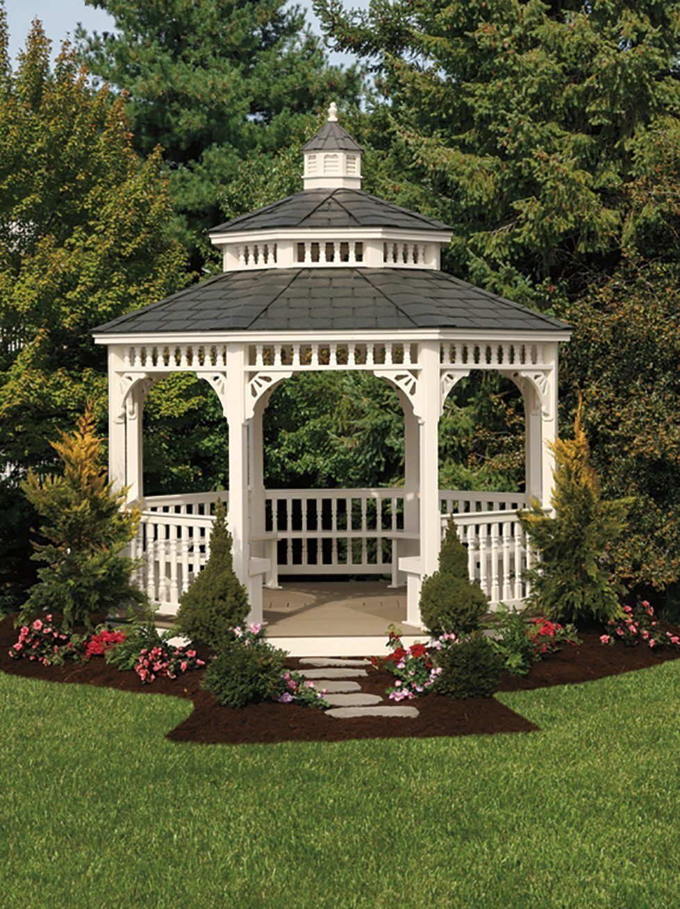 Victorian Gazebo Victorian Gazebo Gazebo Garden Structures