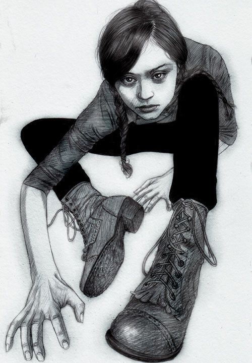 Pencil drawings by Alex Rodriguez {Part 2}