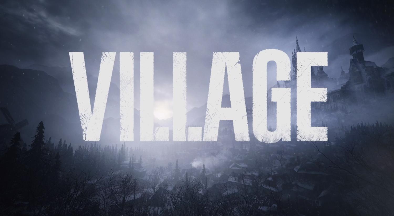 resident evil 8 village logo png