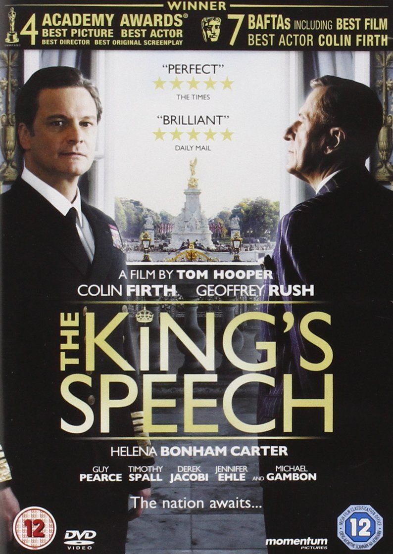 The King S Speech Reino Unido Dvd Speech King Reino Dvd El Discurso Del Rey Peliculas