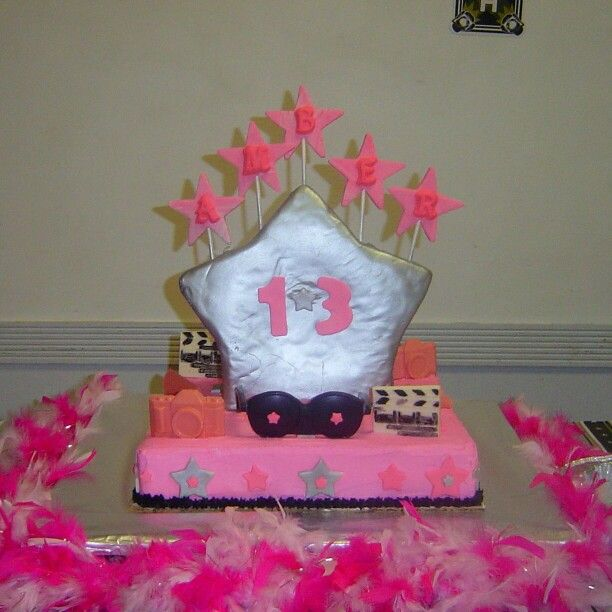 Happy 13th Birthday. By Serenity Gifts Kennedi Cakes