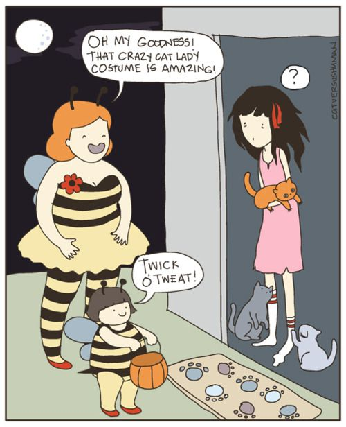I decided to make an early Halloween comic. It gives me an excuse to draw bumblebee costumes. Oh I have a CvsH book and a couple poster give...