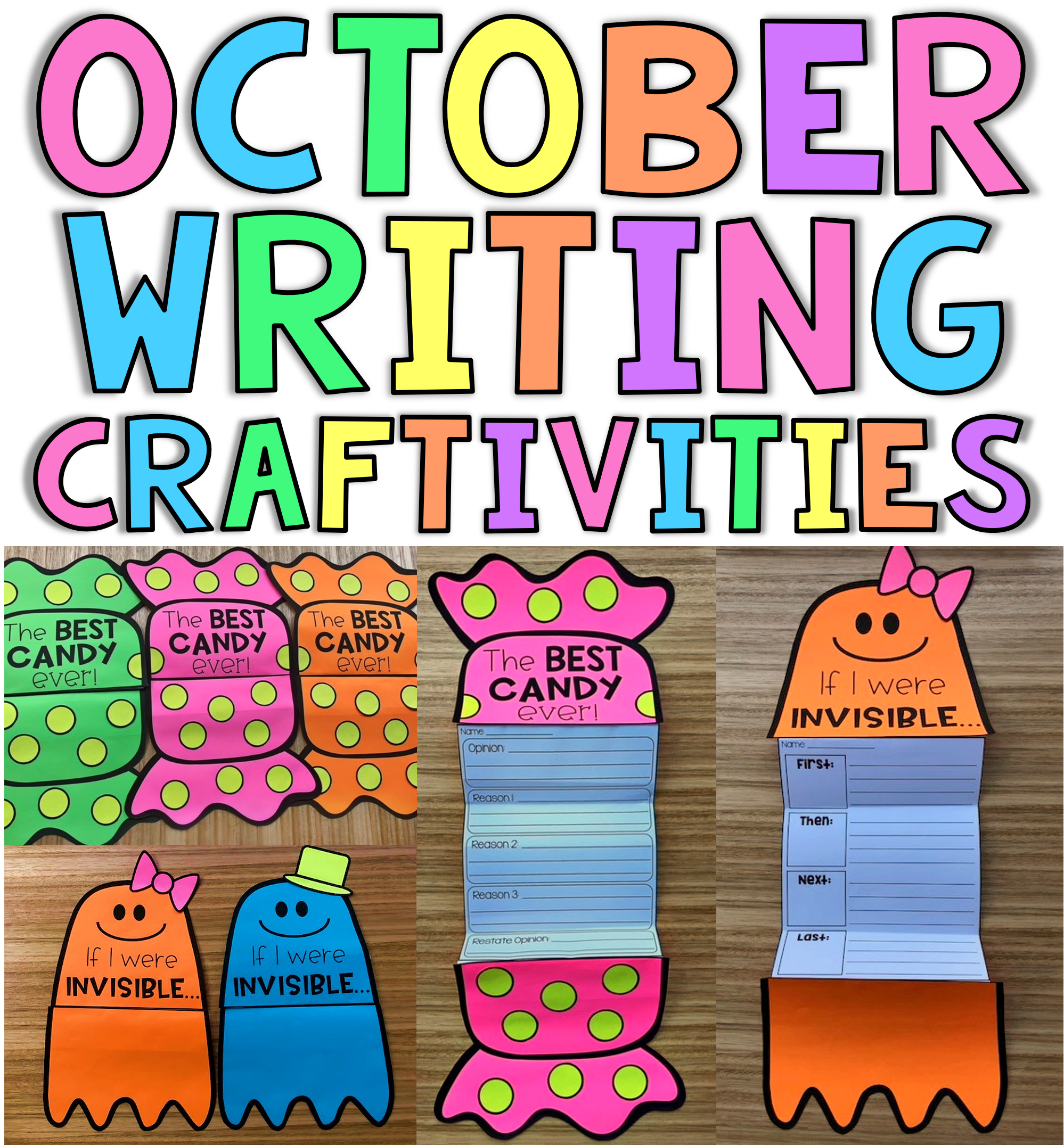 October Writing Craftivities