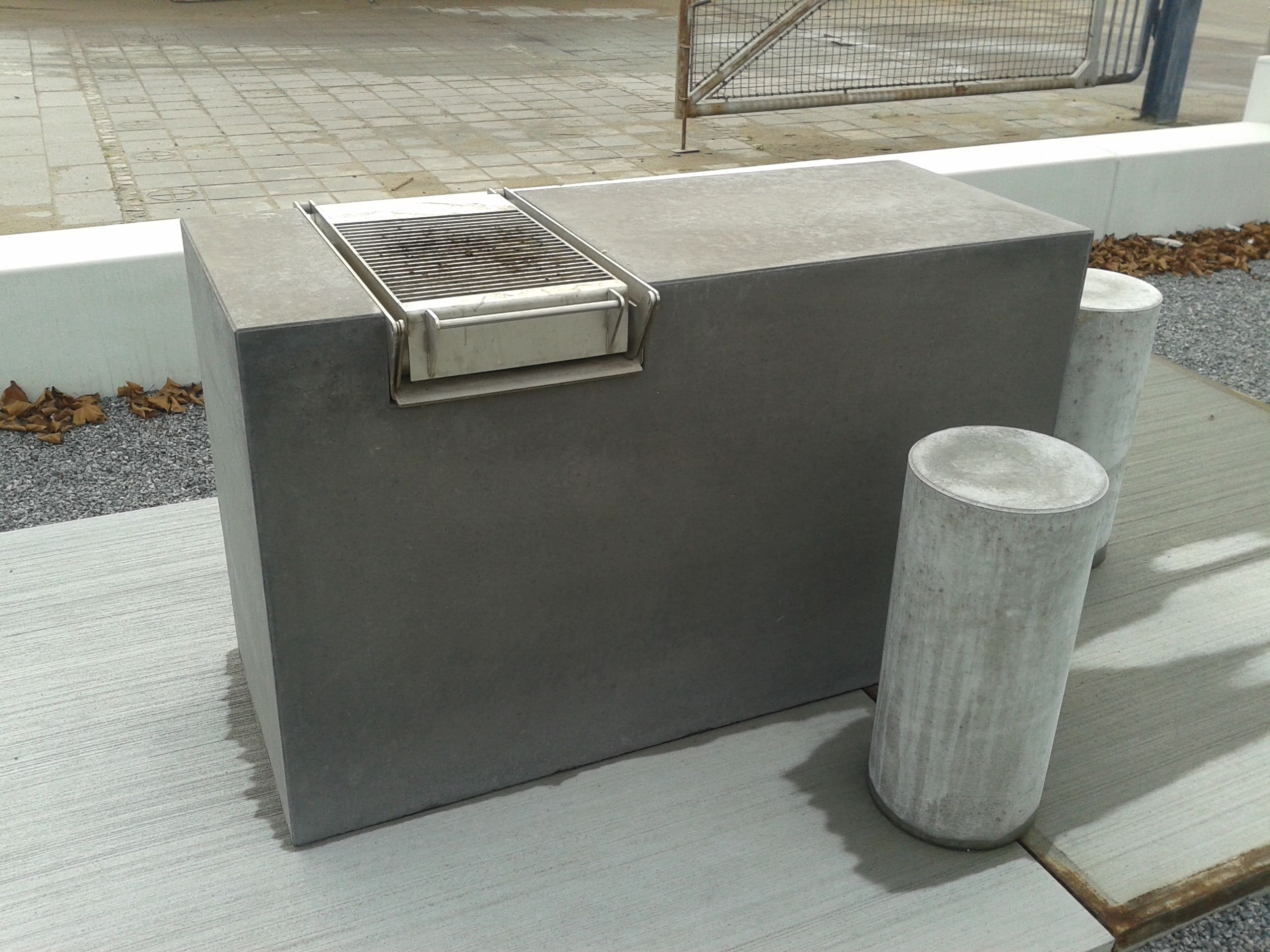 grill element cirkelserien special beton beton til anl g pinterest grilling. Black Bedroom Furniture Sets. Home Design Ideas