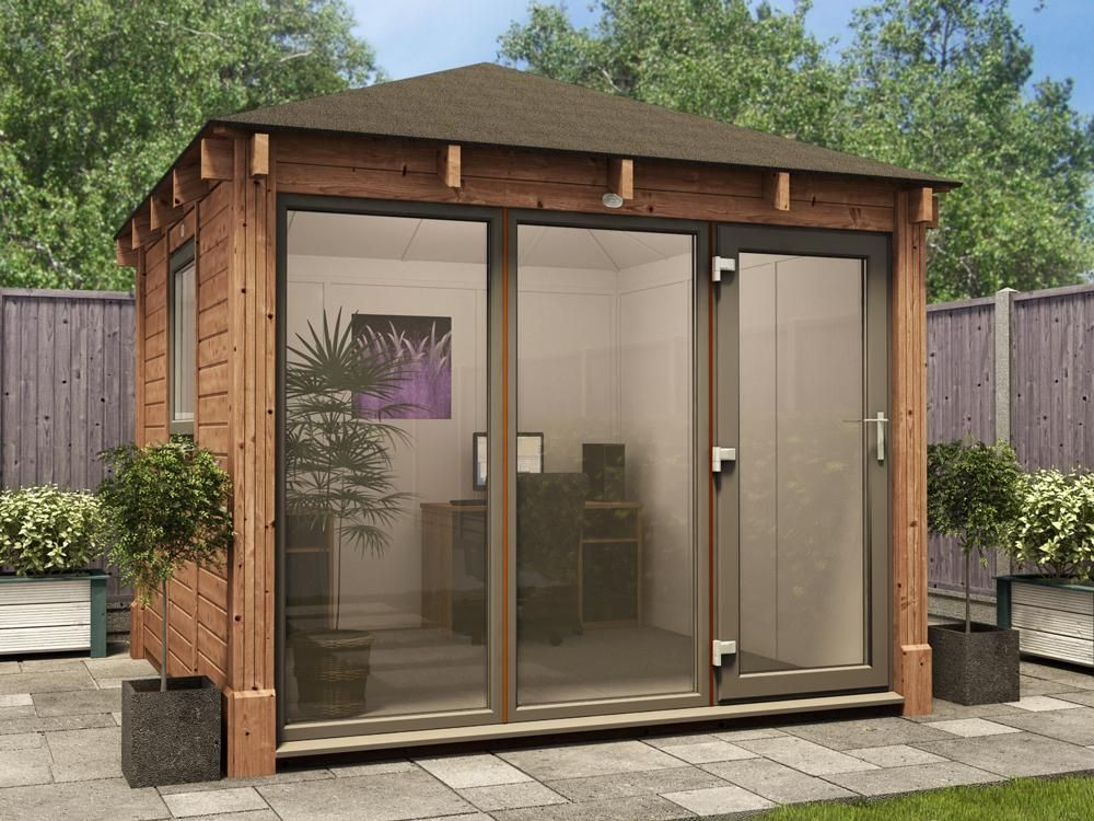 Step Outside Your Back Garden And Become Own Boss With Our Hera Chunky Office