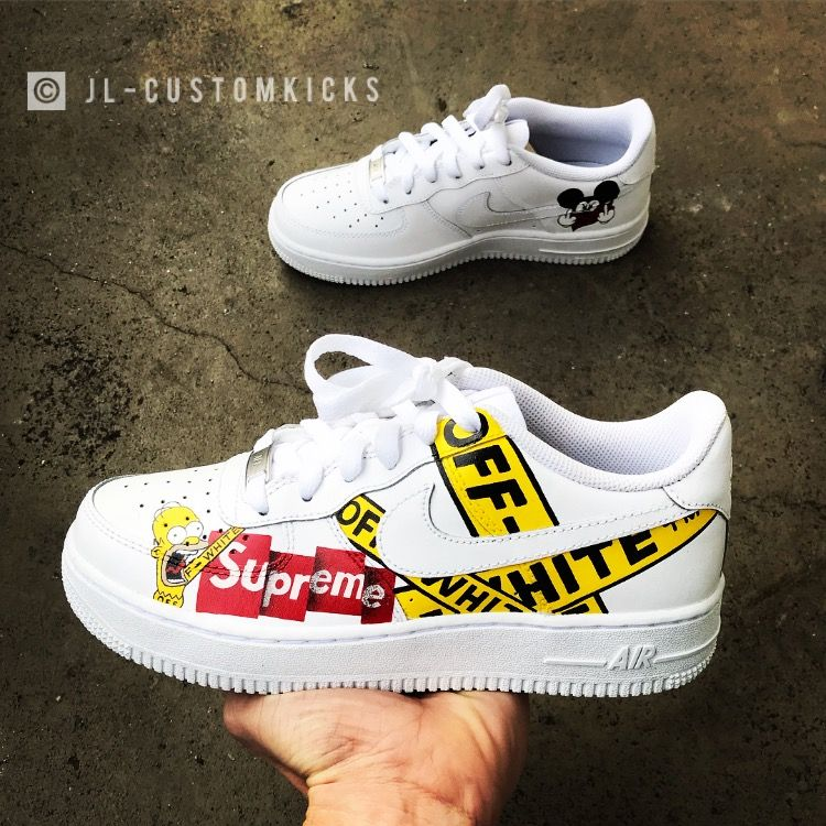 Free Shipping Release Nike Air Force One Off White Collaboration Series Flowers Design Of The Built In Zoom 03Whlx12 Size 3645 18 11 28