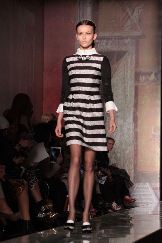 © Moda Glamour Italia: Milano Moda Donna: Roccobarocco A/I 2014-15