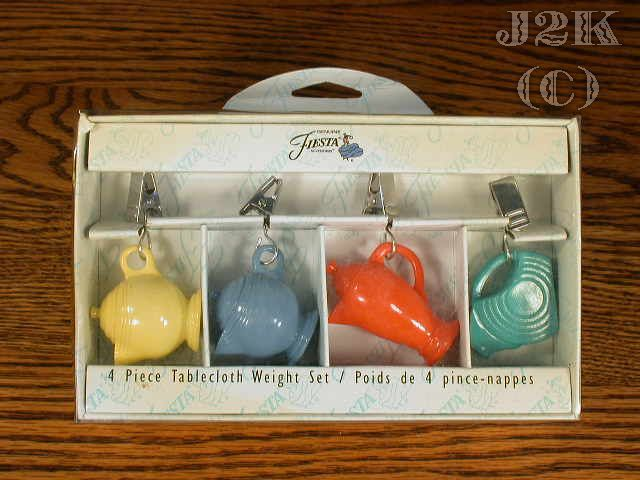 table cloth weights | Fiestaware | Pinterest | Tablecloth weights ...
