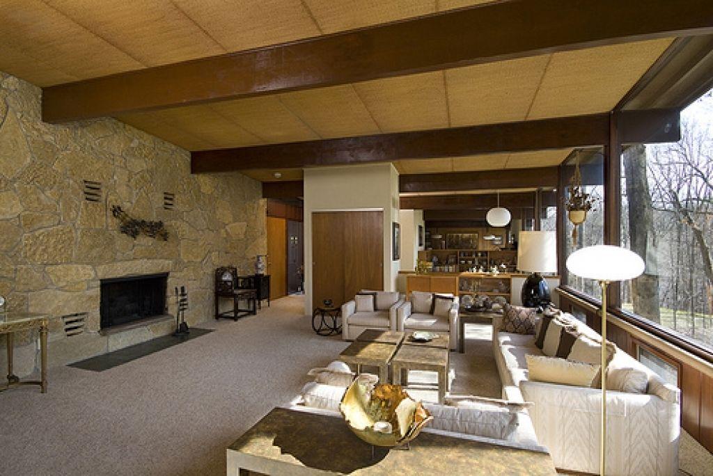 Attirant House · Mid Century Modern Home Interiors ...