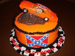 The Dukes Of Hazzard Themed Cake