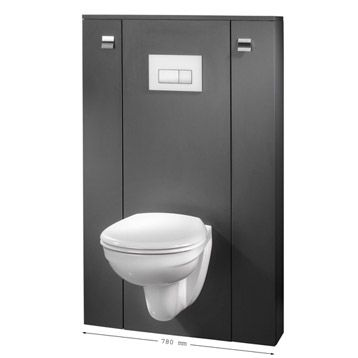 lm h130cm 179 plus salle de bain pinterest meuble wc wc suspendu et suspendu. Black Bedroom Furniture Sets. Home Design Ideas