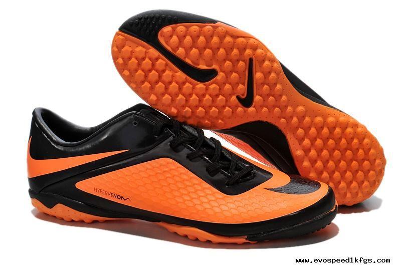 Black/Citrus Nike Hypervenom Phelon TF Boots For Wholesale