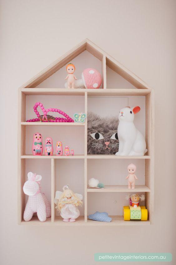 Ni os habitaci n cambiador repisas organizadores - Estantes para juguetes ...