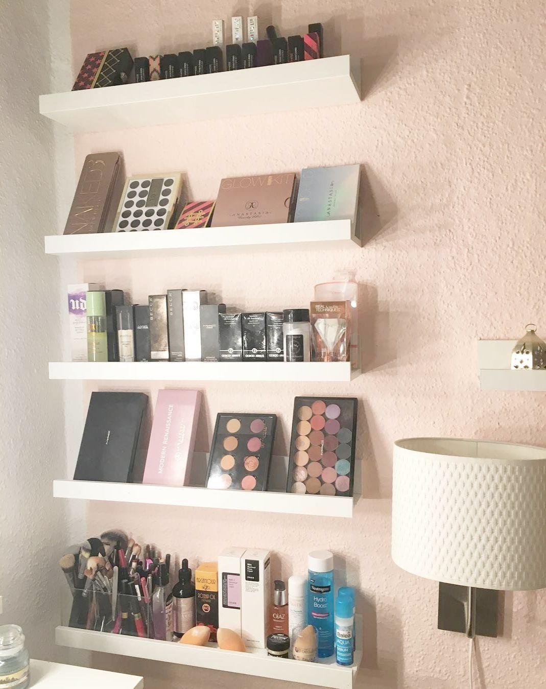 Vanity Set Makeup Dressing Table Wooden Cosmetic Storage Furniture