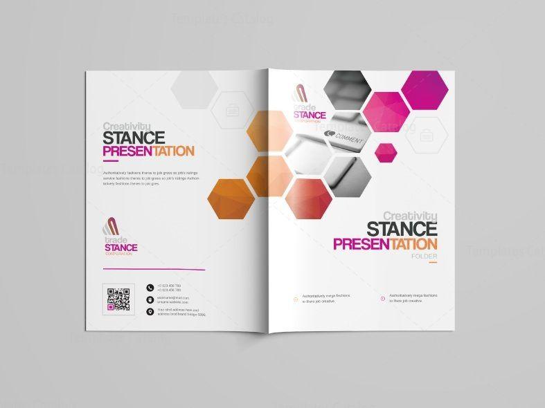 Saturn Professional Bi Fold Brochure Template 001095 Brochure