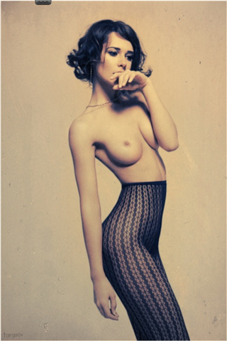 Delicate nude