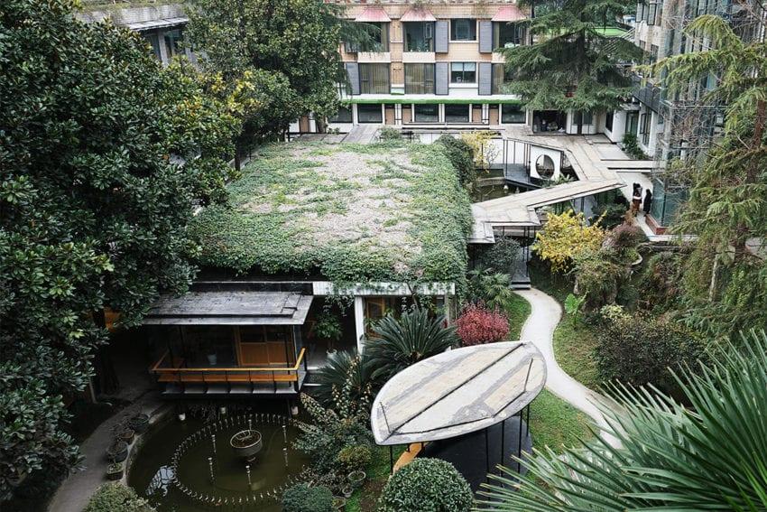 The Garden Island Countyard Renewal in China by epos