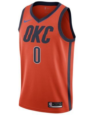 cheap for discount 953ca 45512 Nike Russell Westbrook Oklahoma City Thunder Earned Edition ...