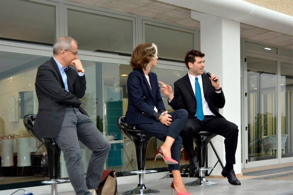 Inaugurazione #QuintaStrada 12/04/2014 con Paola Marella