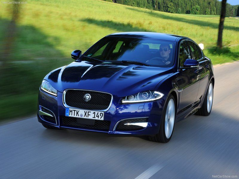Jaguar cars blue - photo#3