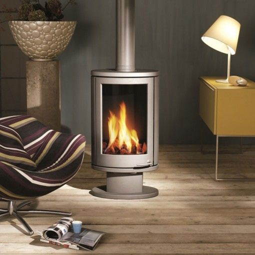 Wanders Solea Gas Atmost Firewood And Services Malta Wood Burning Stoves Living Room Small Wood Burning Stove Modern Stoves