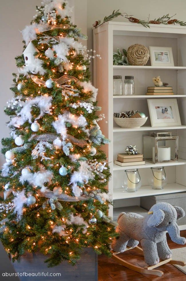 Tips And Tricks For A Beautiful Christmas Tree Nick Alicia Flocked Christmas Trees Real Christmas Tree Beautiful Christmas