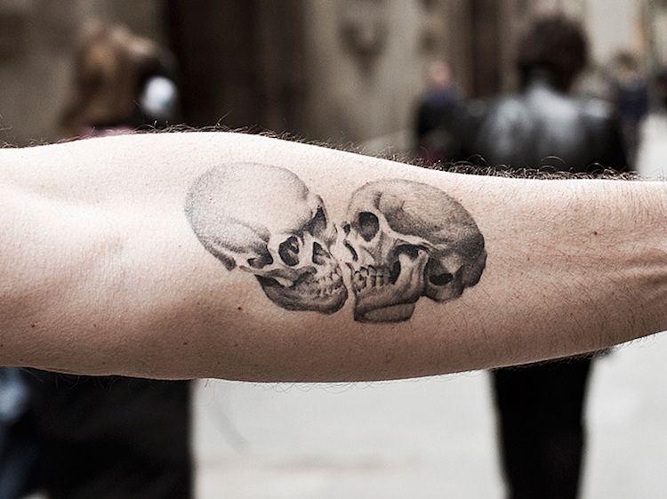 26++ Tattoo tete de mort inspirations