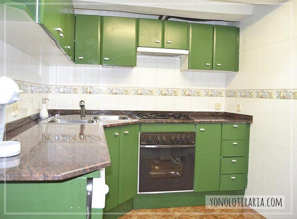 C mo pintar y renovar muebles de formica o melamina - Pintar encimera cocina ...