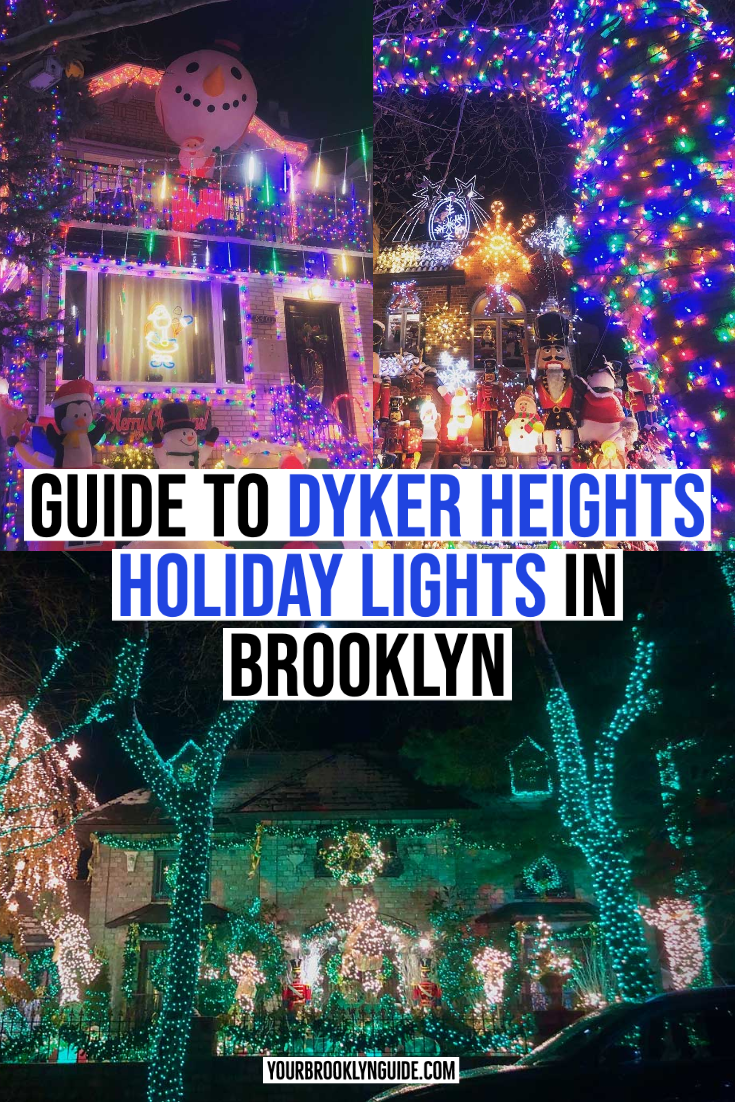 Things To Do In Nyc On Christmas Day 2020 DYKER HEIGHTS CHRISTMAS LIGHTS GUIDE | Things to do in Brooklyn