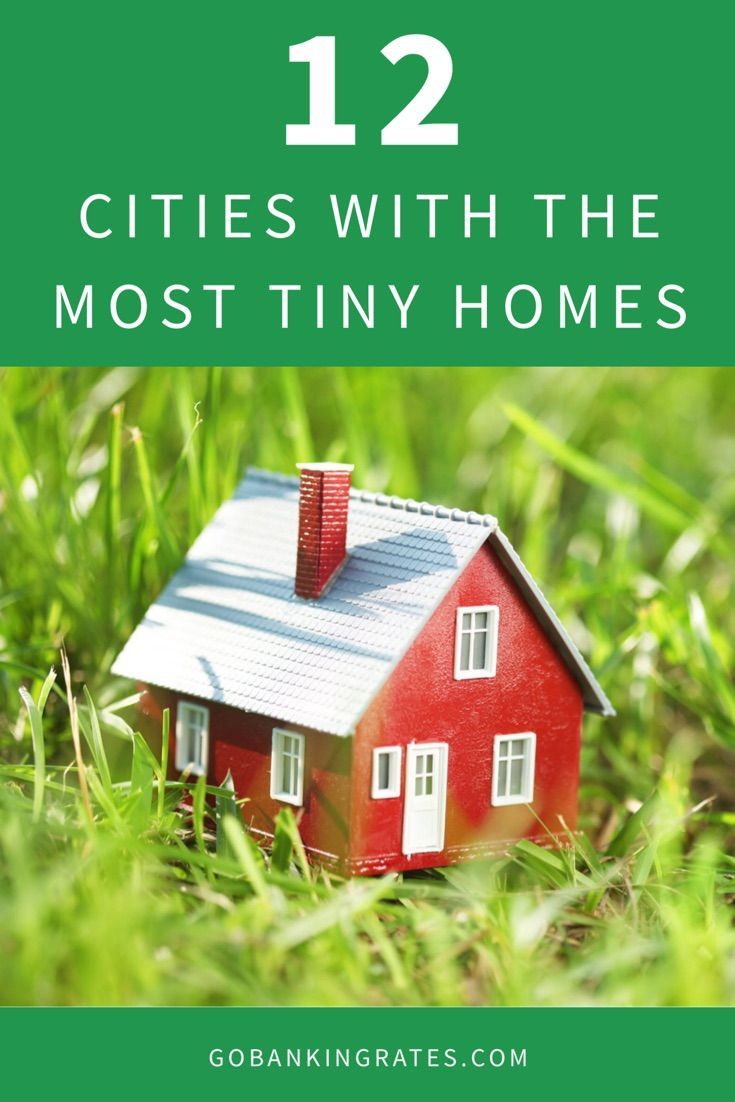 Click through to find out the top markets with the highest number of tiny houses for sale.