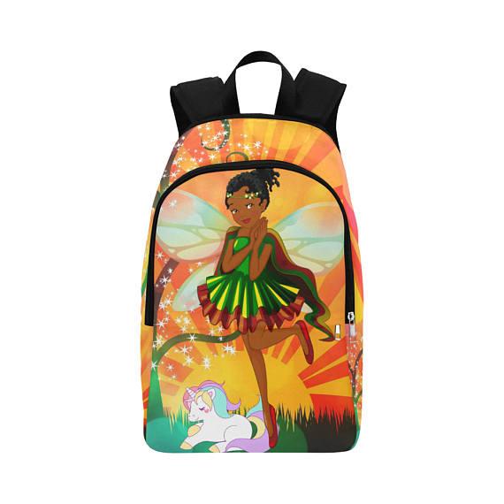 Backpack with Unicorns - Unicorn Backpack - Personalised Backpack ... 1f2de1859f872