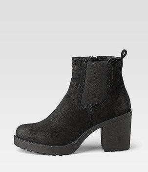 Stiefelette Grace Stiefeletten Schuhe Damen Schwarze Stiefeletten