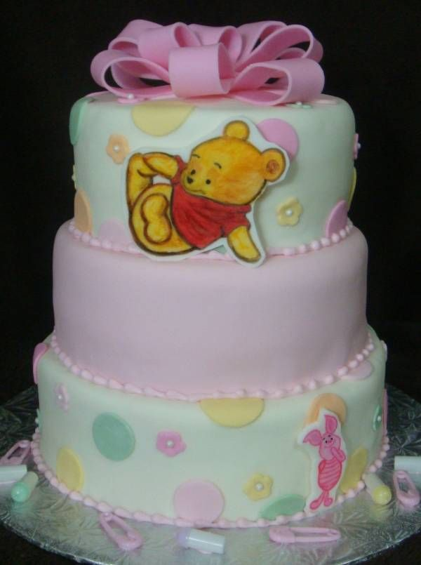 Pooh Baby Shower Cake Idea Possibly One Day I Love That It Looks
