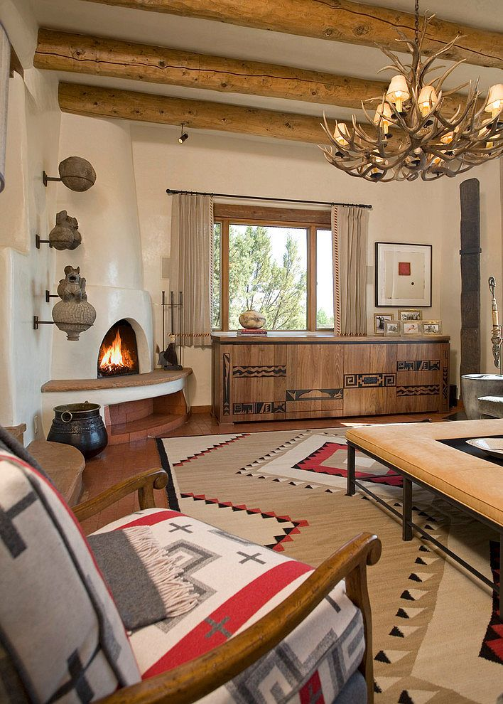 Santa Fe Chic by Samuel Design Group | Mexican home decor ...