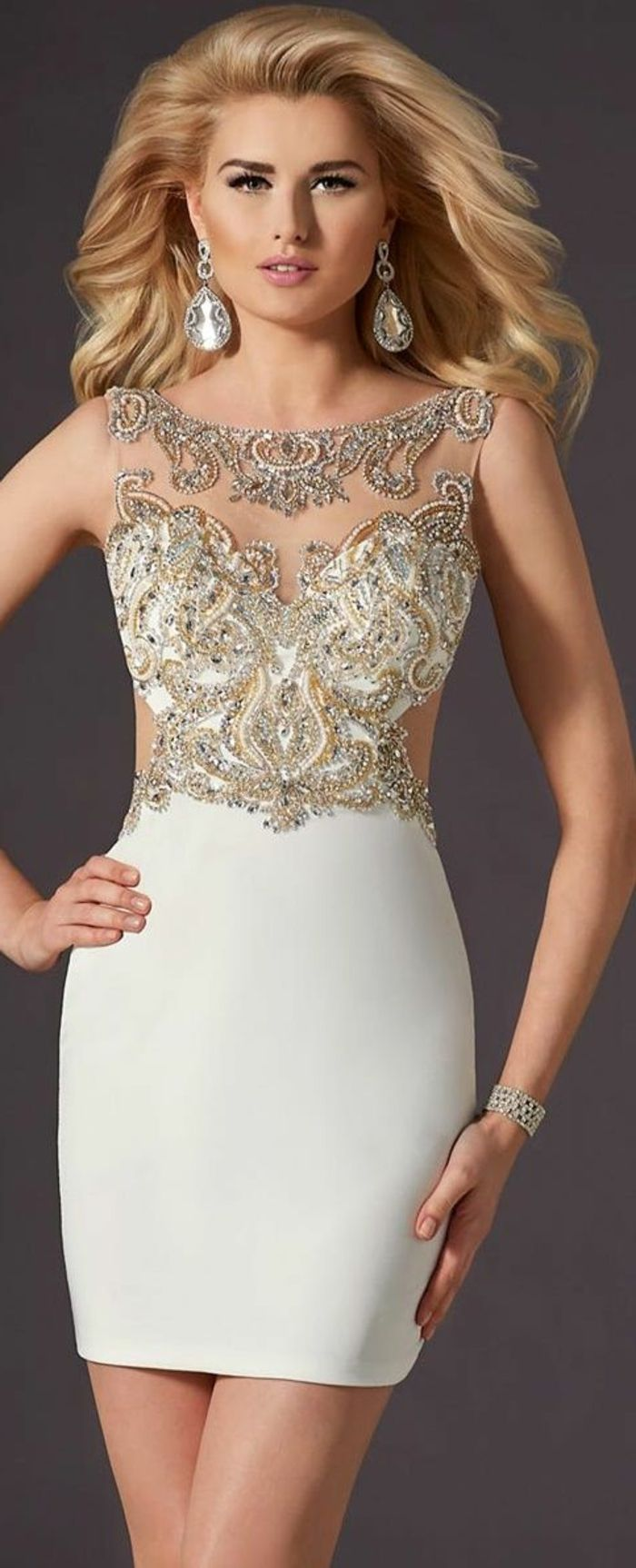 Jolie robe de cocktail pas cher