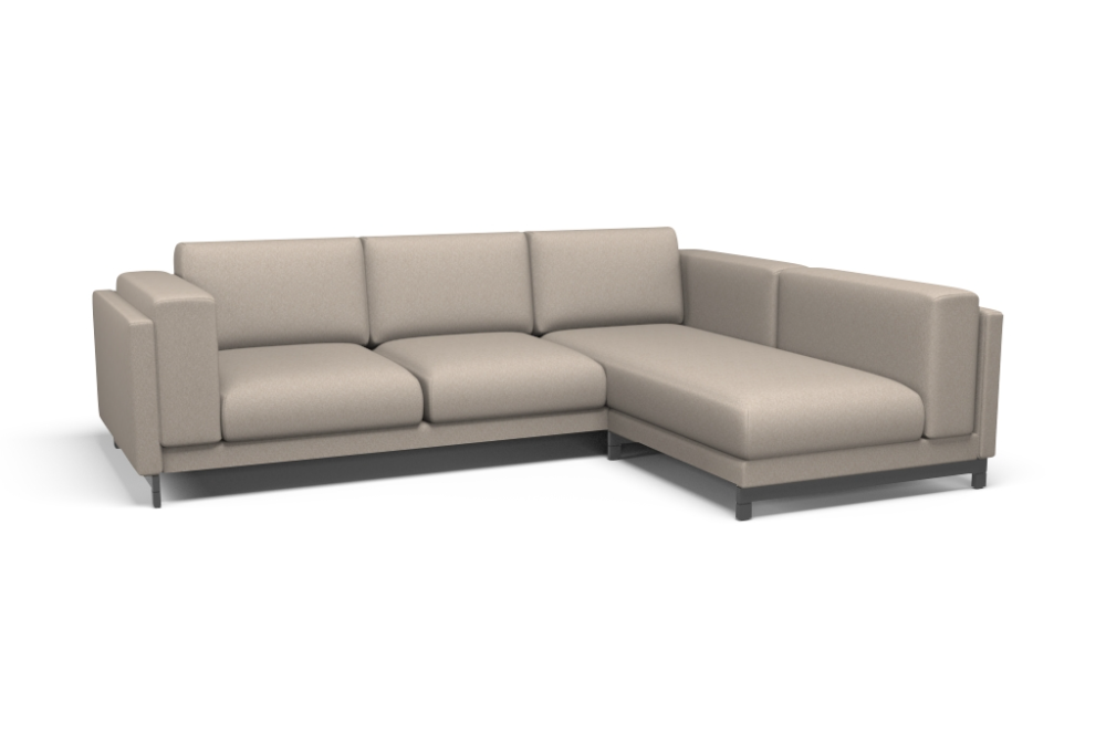 Nockeby 2 Sitzer Sofa Mit Recamiere Rechts Bezug Malmo New Almond In 2020