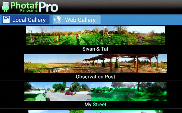 Photaf Panorama Pro is best 360 Degree Camera Apps for
