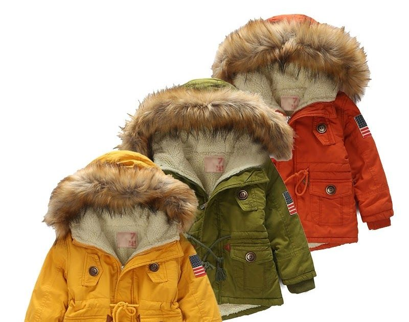 22f2ac5bb Big SALE Kids coat 2018 Autumn Winter Boys Girls Jacket for Children ...