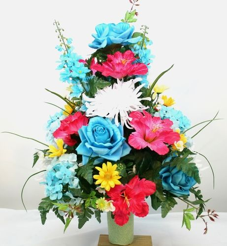 HOW TO WOW - 9 DIY SIMPLY CHIC FLORAL ARRANGEMENTS | Large ... |Large Spring Floral Arrangements