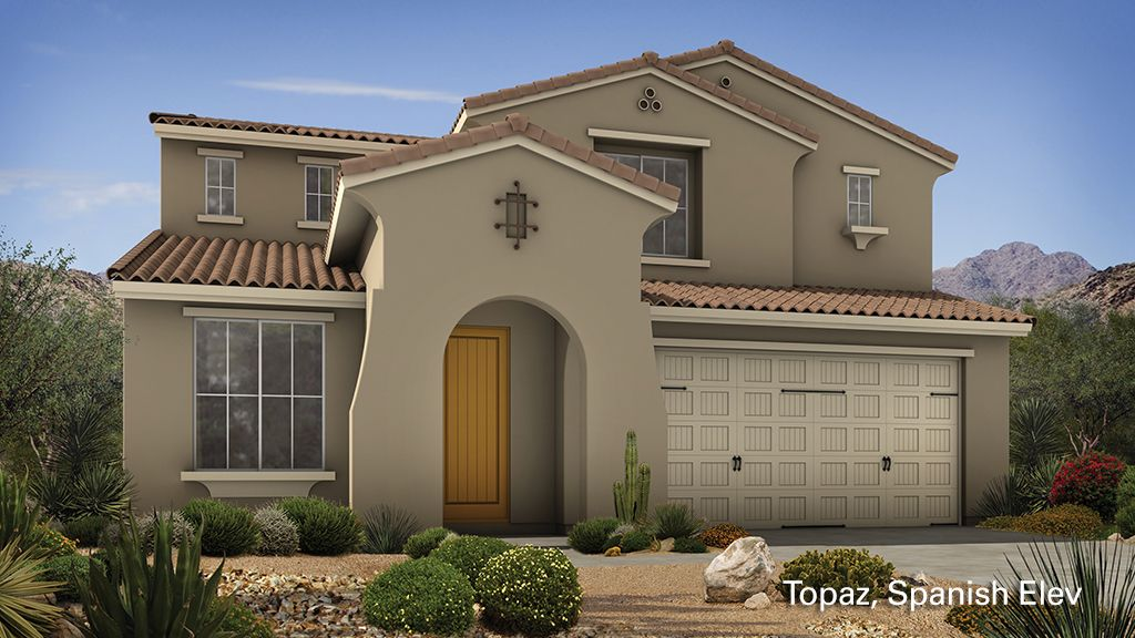Elegant Finishing Touches In Both The Interior And Exterior Of The Homes At Northlands In Peoria Az Make New Homes New Home Communities New Home Designs