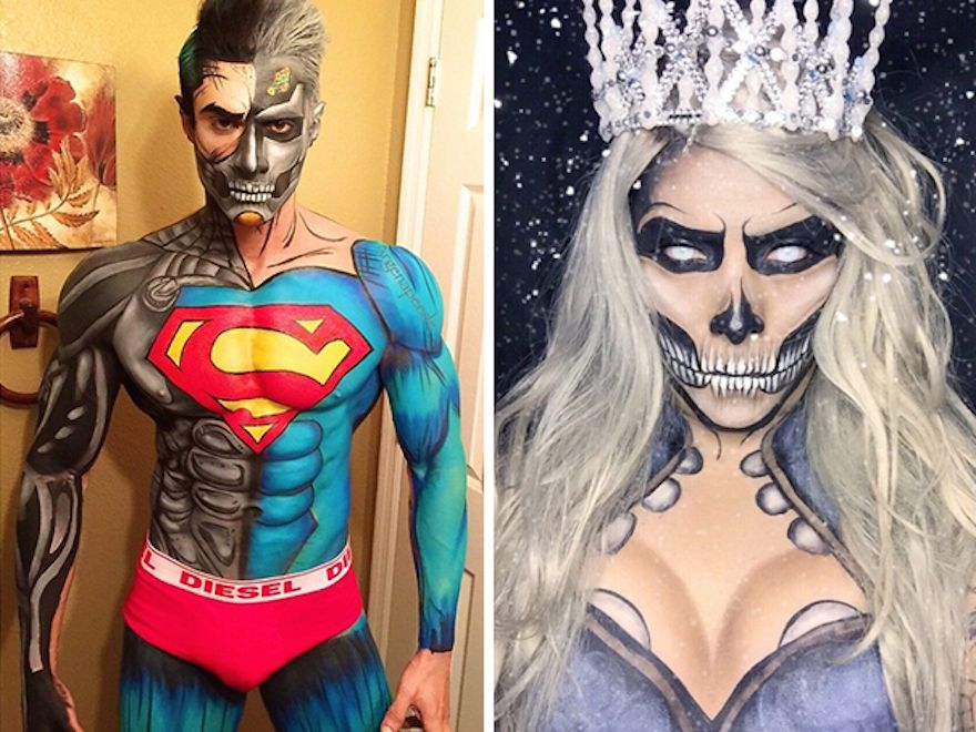 make-up-body-art-comic-book-superhero-cosplay-argenis-pinal-6 ...