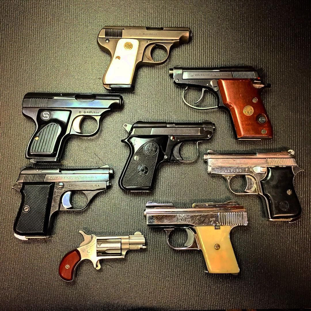 Mouse Gun collection  22LR and 25 ACP | Guns | Guns, Hand