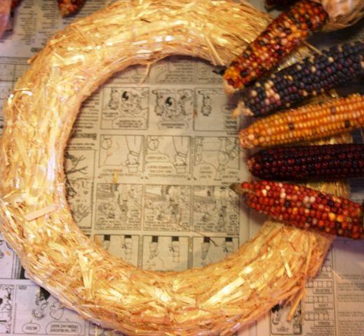 Boys, Bovines and Blessings: Indian Corn Meets Hot Glue Gun