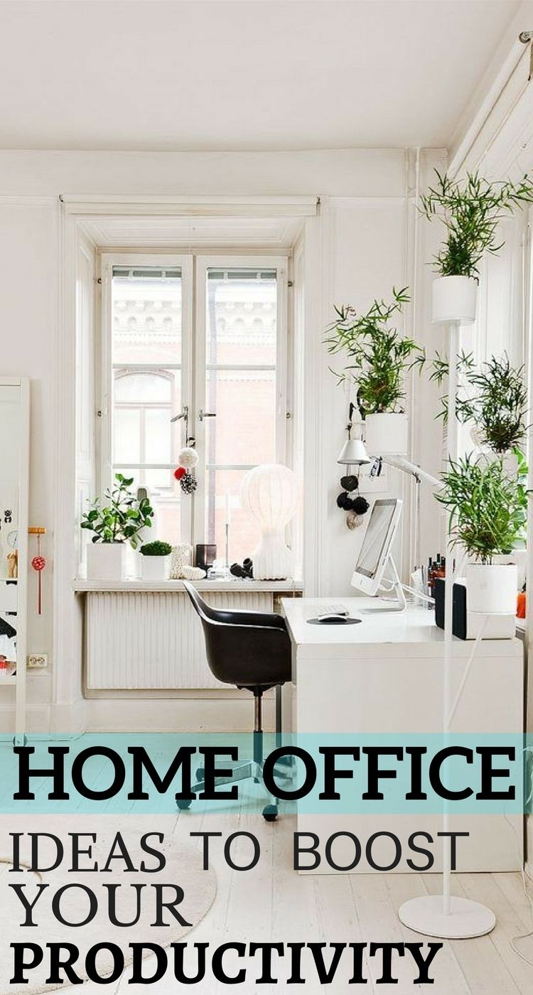 Home Office Ideas That Will Boost Your Productivity | Interiors ...