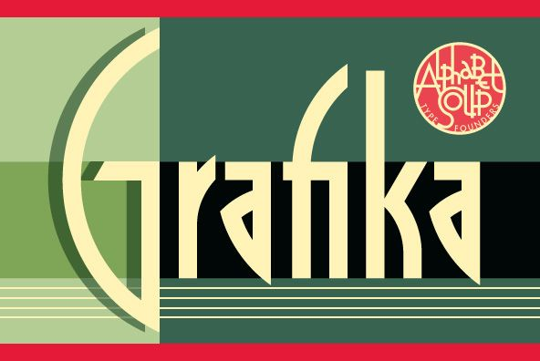 Grafika is a completely original design, done in an Art Deco spirit reminiscent of the 1920s and 30s.