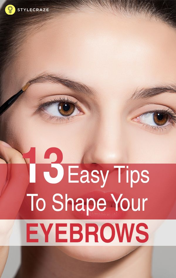 How To Fill In Your Eyebrows And Make Them Look Thicker ...