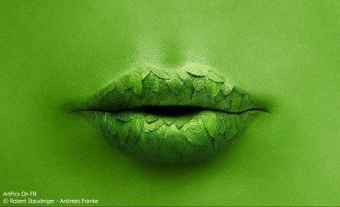 Boca verde! #Art @anatonia